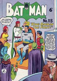 Cover Thumbnail for Batman (K. G. Murray, 1950 series) #113