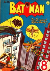 Cover Thumbnail for Batman (K. G. Murray, 1950 series) #15
