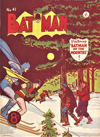 Cover Thumbnail for Batman (K. G. Murray, 1950 series) #41