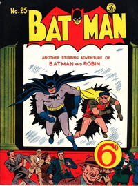 Cover Thumbnail for Batman (K. G. Murray, 1950 series) #25