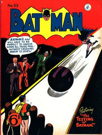 Cover Thumbnail for Batman (K. G. Murray, 1950 series) #53