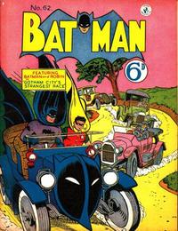 Cover Thumbnail for Batman (K. G. Murray, 1950 series) #62