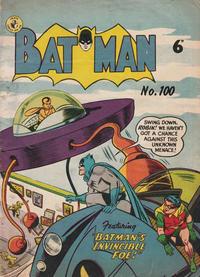 Cover Thumbnail for Batman (K. G. Murray, 1950 series) #100