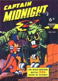 Cover Thumbnail for Captain Midnight (L. Miller & Son, 1950 series) #109