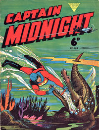 Cover Thumbnail for Captain Midnight (L. Miller & Son, 1950 series) #128