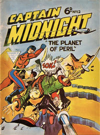 Cover Thumbnail for Captain Midnight (L. Miller & Son, 1962 series) #12