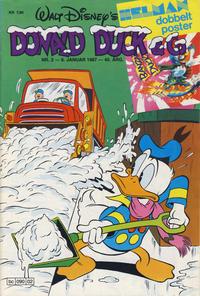 Cover Thumbnail for Donald Duck & Co (Hjemmet / Egmont, 1948 series) #2/1987