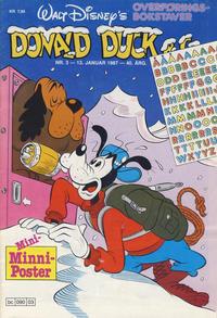 Cover Thumbnail for Donald Duck & Co (Hjemmet / Egmont, 1948 series) #3/1987