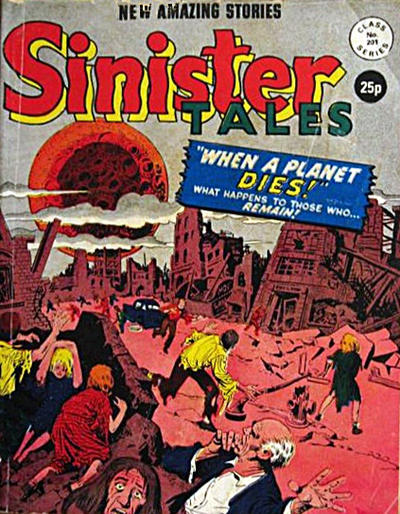 Cover for Sinister Tales (Alan Class, 1964 series) #201