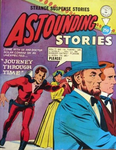 Cover for Astounding Stories (Alan Class, 1966 series) #156