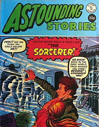 Cover for Astounding Stories (Alan Class, 1966 series) #180
