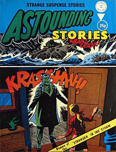 Cover for Astounding Stories (Alan Class, 1966 series) #158
