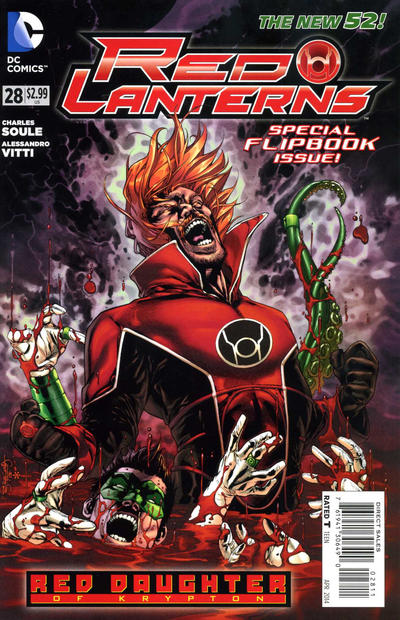 Cover for Red Lanterns (DC, 2011 series) #28 [Combo-Pack]