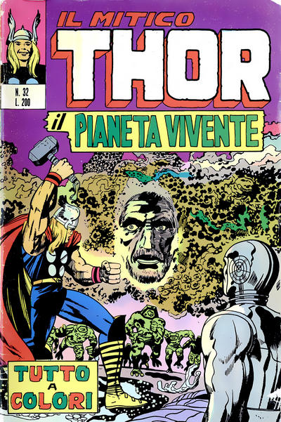 Cover for Il Mitico Thor (Editoriale Corno, 1971 series) #32