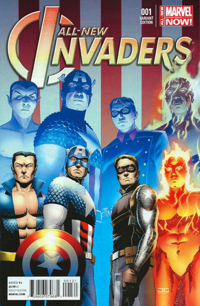 Cover for All-New Invaders (Marvel, 2014 series) #1 [Blank Cover Variant]