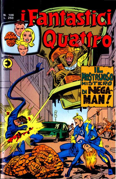 Cover for I Fantastici Quattro (Editoriale Corno, 1971 series) #106