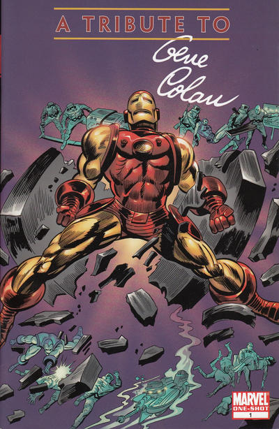 Cover for Gene Colan Tribute Book (Marvel, 2008 series) #1