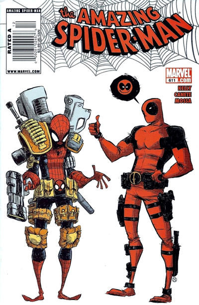 Cover for The Amazing Spider-Man (Marvel, 1999 series) #611 [Direct Edition]