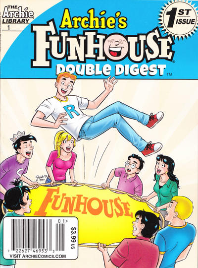 Cover for Archie's Funhouse Double Digest (Archie, 2014 series) #1 [Direct Edition]