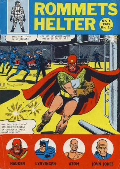 Cover for Rommets Helter (Serieforlaget / Se-Bladene / Stabenfeldt, 1965 series) #1/1965