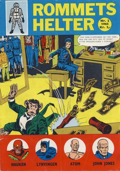 Cover for Rommets Helter (Serieforlaget / Se-Bladene / Stabenfeldt, 1965 series) #2/1965