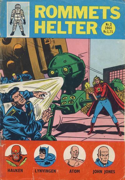 Cover for Rommets Helter (Serieforlaget / Se-Bladene / Stabenfeldt, 1965 series) #3/1966