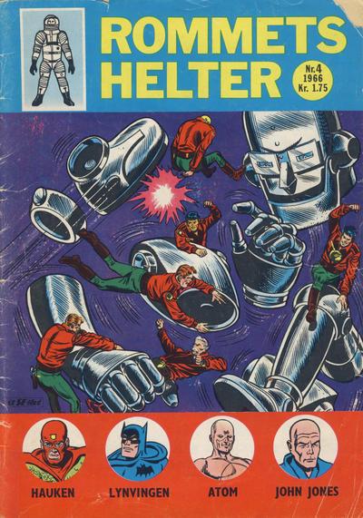Cover for Rommets Helter (Serieforlaget / Se-Bladene / Stabenfeldt, 1965 series) #4/1966