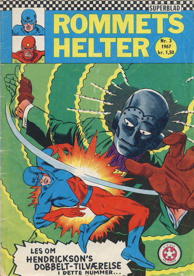 Cover for Rommets Helter (Serieforlaget / Se-Bladene / Stabenfeldt, 1965 series) #3/1967