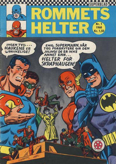 Cover for Rommets Helter (Serieforlaget / Se-Bladene / Stabenfeldt, 1965 series) #1/1968