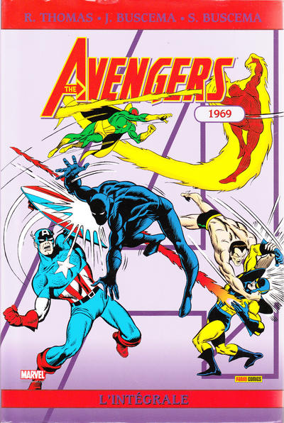 Cover for Avengers : L'intégrale (Panini France, 2006 series) #6