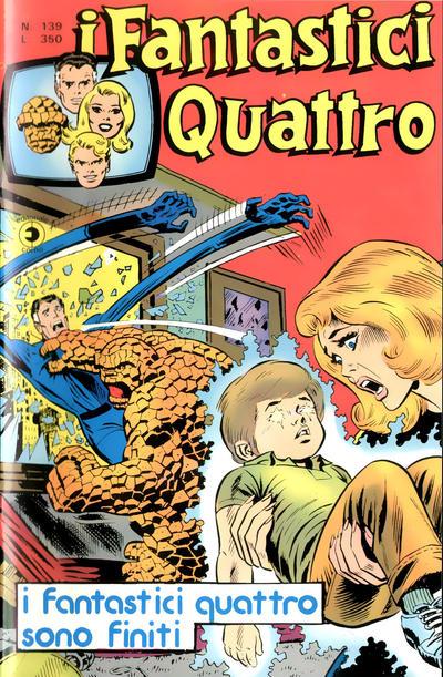 Cover for I Fantastici Quattro (Editoriale Corno, 1971 series) #139