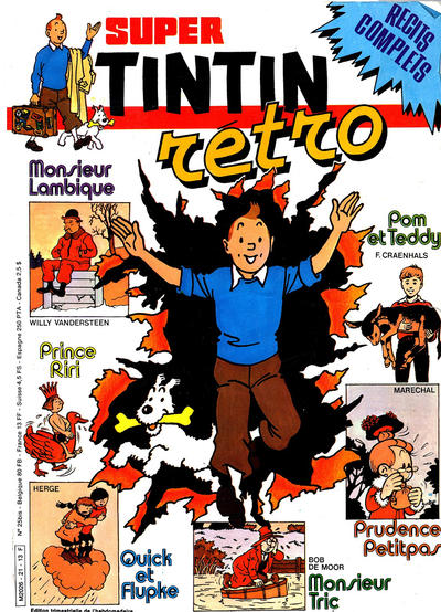 Cover for Super Tintin (Le Lombard, 1978 series) #21