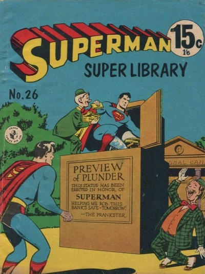 Cover for Superman Super Library (K. G. Murray, 1964 series) #26