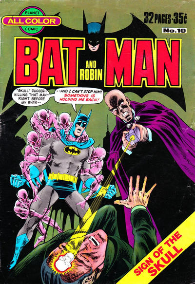 Cover for Batman and Robin (K. G. Murray, 1976 series) #10
