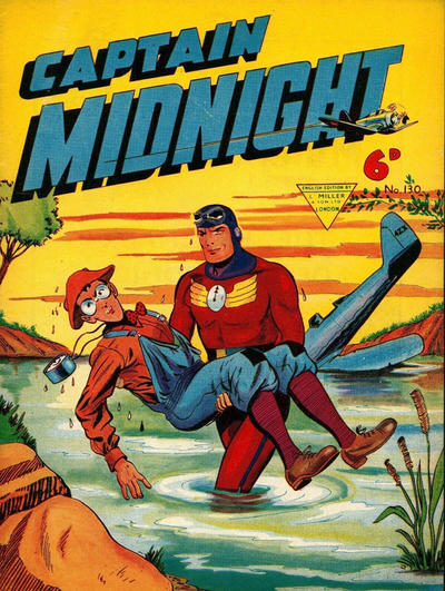 Cover for Captain Midnight (L. Miller & Son, 1950 series) #130