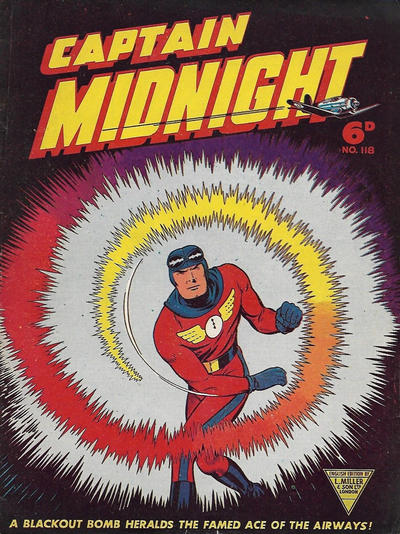 Cover for Captain Midnight (L. Miller & Son, 1950 series) #118
