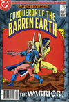 Cover for Conqueror of the Barren Earth (DC, 1985 series) #3 [Newsstand]