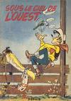 Cover for Lucky Luke (Dupuis, 1949 series) #4 - Sous le ciel de l'Ouest