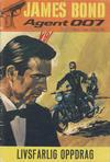 Cover for James Bond (Romanforlaget, 1966 series) #5/1968