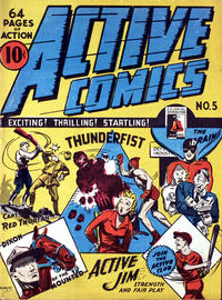 Cover Thumbnail for Active Comics (Bell Features, 1942 series) #5
