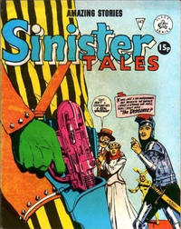 Cover for Sinister Tales (Alan Class, 1964 series) #147