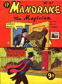 Cover Thumbnail for Mandrake the Magician (Feature Productions, 1950 ? series) #97