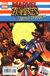 Cover Thumbnail for Marvel Zombies / Army of Darkness (Marvel / Dynamite Entertainment, 2007 series) #1 [Second Printing]
