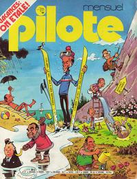 Cover Thumbnail for Pilote Mensuel (Dargaud, 1974 series) #27