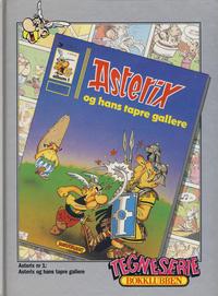 Cover Thumbnail for Asterix [Tegneserie Bokklubben] (Hjemmet / Egmont, 1992 series) #1 - Asterix og hans tapre gallere