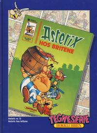 Cover Thumbnail for Asterix [Tegneserie Bokklubben] (Hjemmet / Egmont, 1992 series) #5 - Asterix hos britene