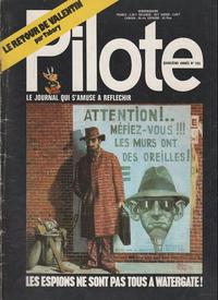 Cover Thumbnail for Pilote (Dargaud, 1960 series) #709