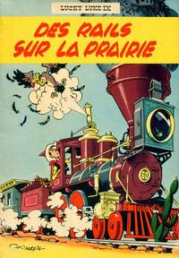 Cover Thumbnail for Lucky Luke (Dupuis, 1949 series) #9 - Des rails sur la prairie