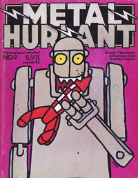 Cover Thumbnail for Métal Hurlant (Les Humanoïdes Associés, 1975 series) #9