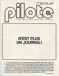 Cover Thumbnail for Pilote Mensuel (Dargaud, 1974 series) #53